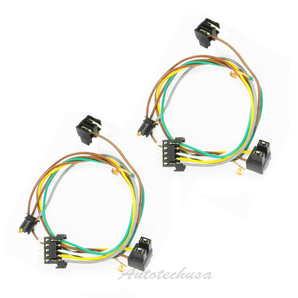medium resolution of details about left right headlight wire harness connector kit for dc111 mercedes w203 c320