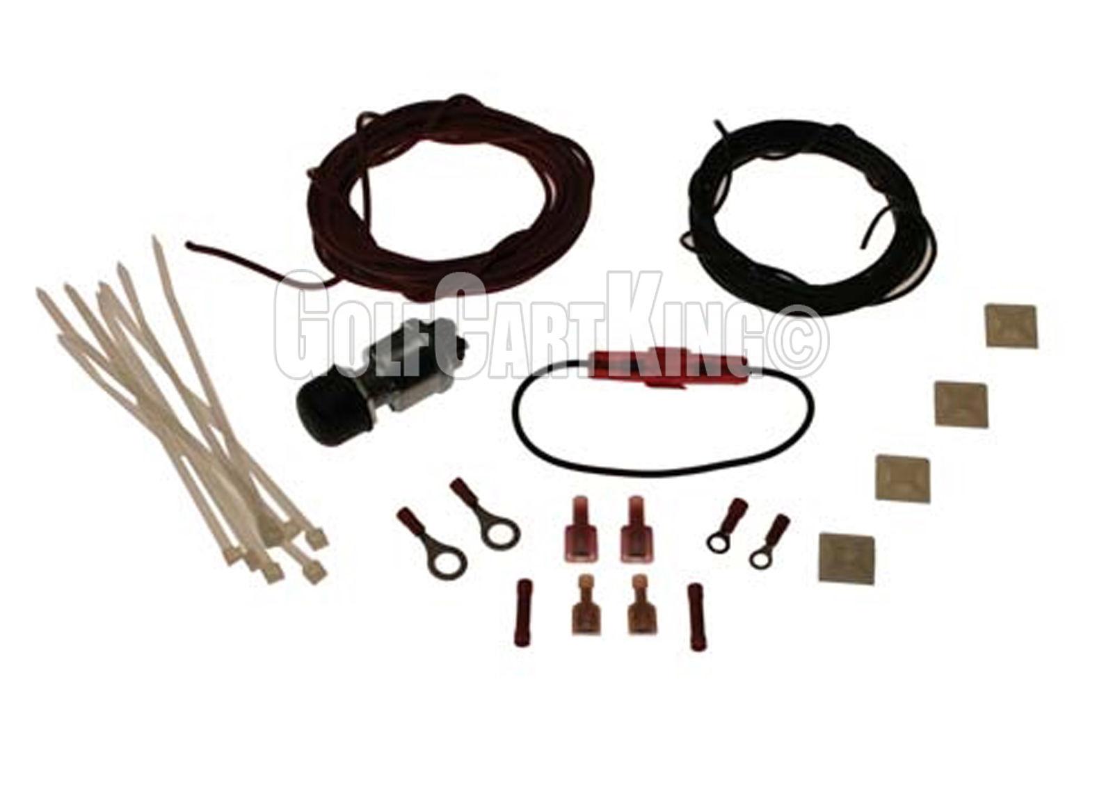 hight resolution of brake light kit for e z go g e 94 up yamaha g2 up