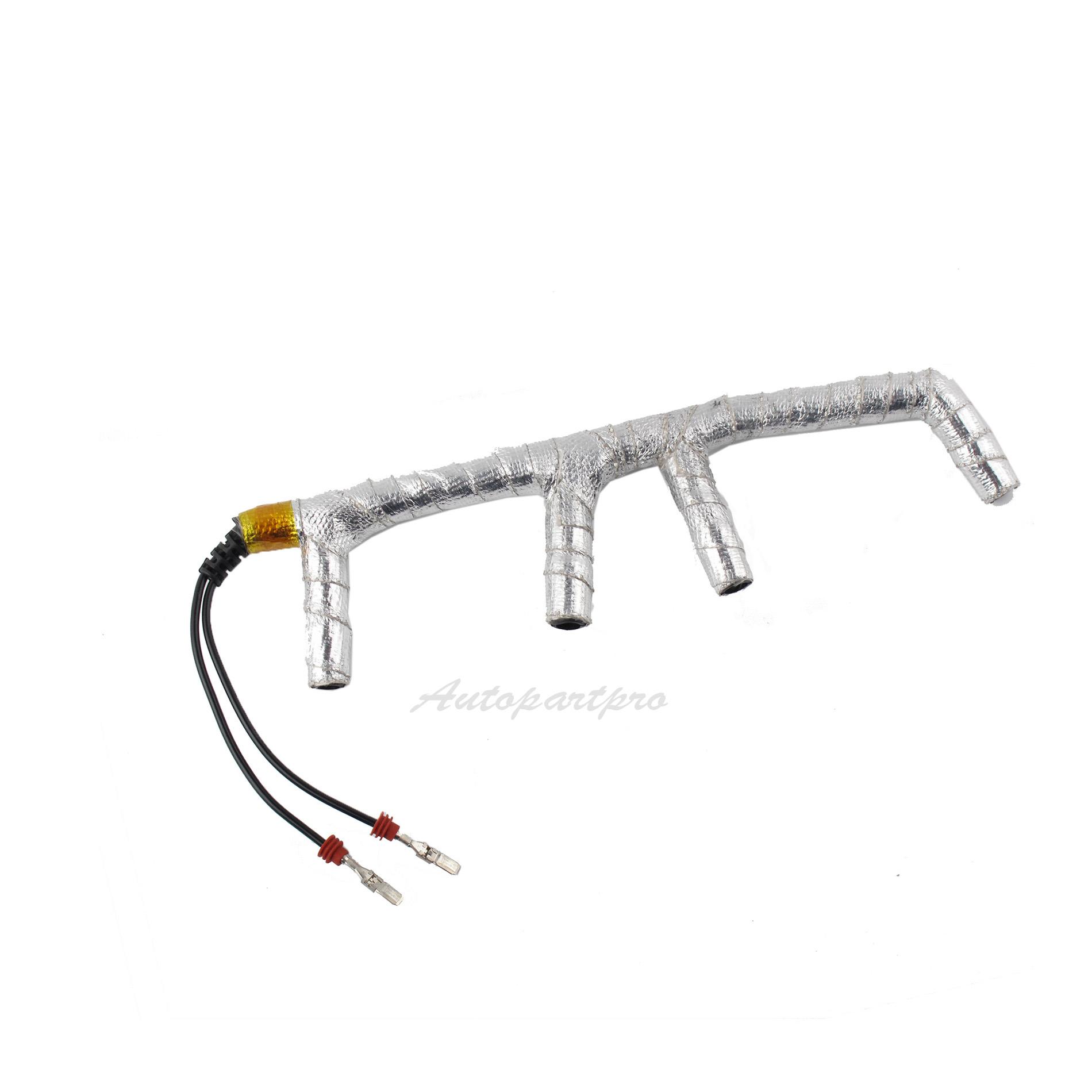 For VW Beetle 1.9L 2 Wire Glow Plug Wiring Harness W
