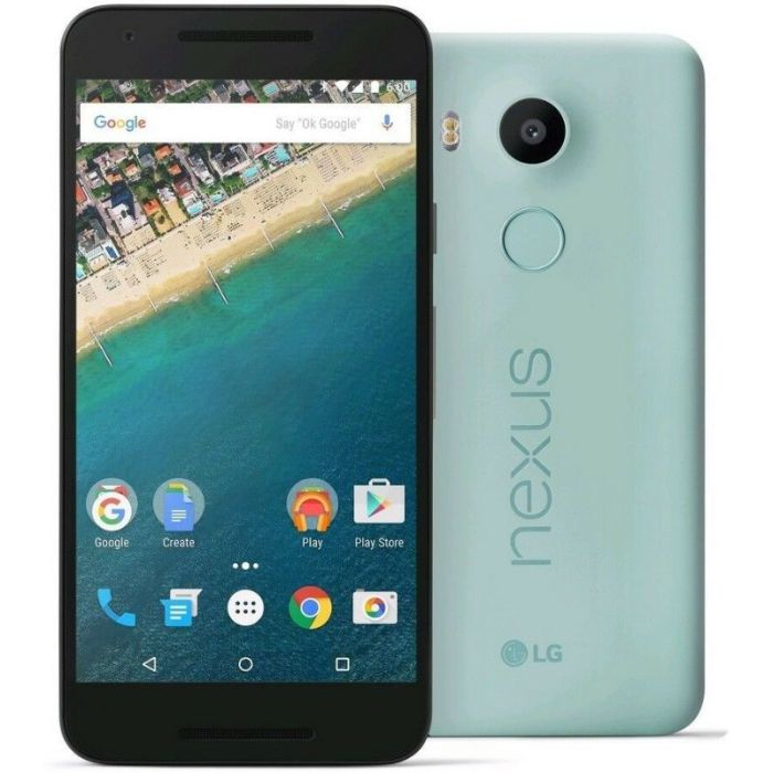Capturing the soul of the Nexus family, Nexus 5X offers top-line performance in a compact, lightweight device that's ready to take on the day with you. Under the 5.2-inch display is a Qualcomm Snapdragon 808 processor and a 2700 mAh battery, so videos, apps, and games look great and run fast, all day long. If you do get low, charging is quick with the USB Type-C plug. It's reversible, so there's no more guessing which way is up.  Your Nexus 5X is quicker to access and more secure with a fingerprint sensor placed on the back to complement the way you naturally hold your phone. Unlock your phone and compatible apps with just one touch. Larger 1.55 µm pixels absorb more light in even the dimmest conditions to make your photos sharp and vibrant. Plus, the Google Camera app is so quick and easy to use, you'll never miss a moment. Built from the inside out to make the most of the world's most popular OS, Nexus is the ultimate Android experience. You'll have the freshest, fastest version, Android 6.0 Marshmallow, working for you right out of the box, and you'll always be among the first to get software updates.