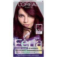 Loreal Paris Feria Hair Color V38 Intense Deep Violet