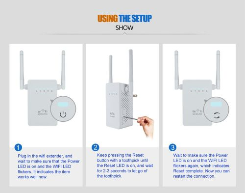 small resolution of 300mbps wireless n wifi repeater range extender signal booster network router