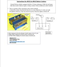ib 750 battery isolator wiring diagram wiring librarycole hersee battery isolator wiring diagram free vehicle wiring [ 1275 x 1650 Pixel ]