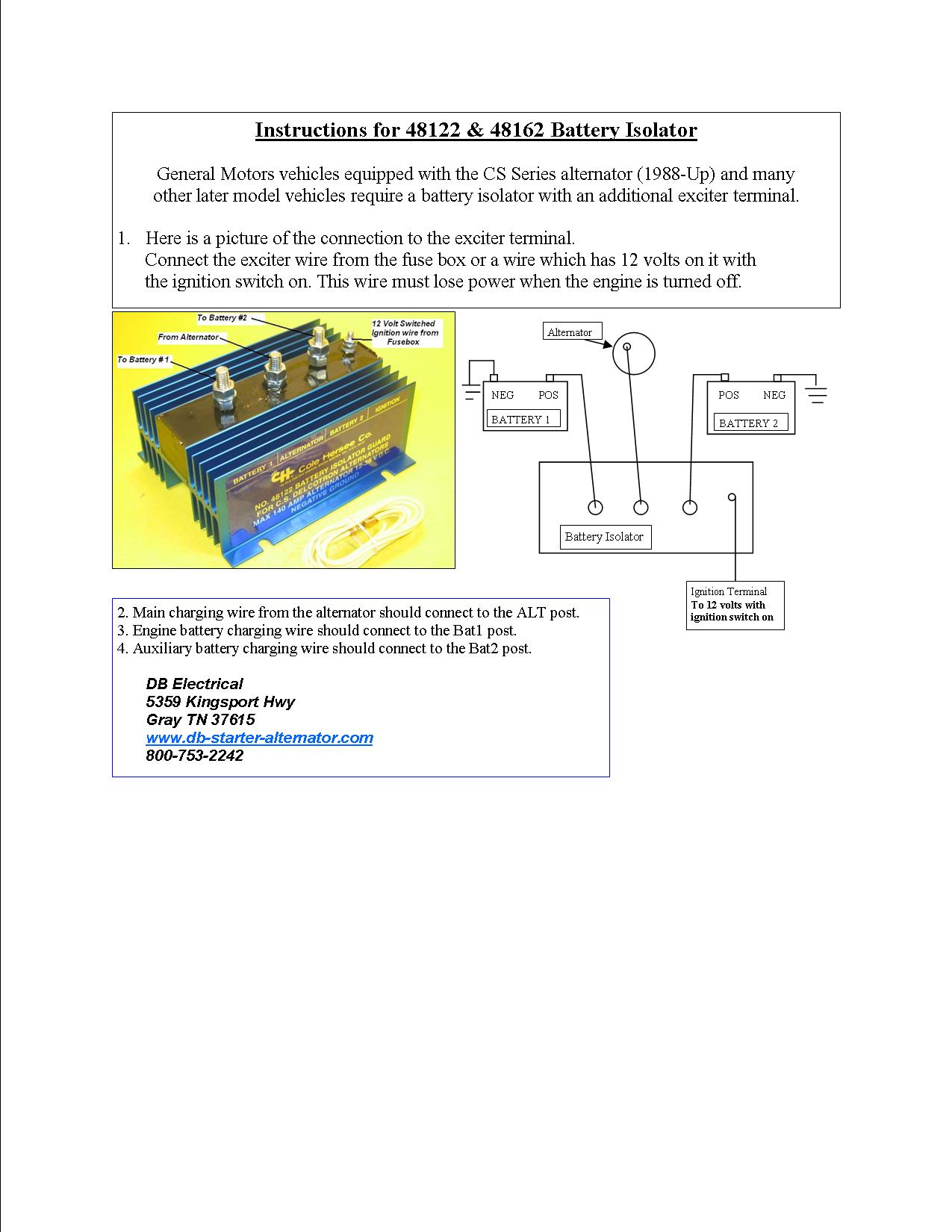 hight resolution of ib 750 battery isolator wiring diagram wiring librarycole hersee battery isolator wiring diagram free vehicle wiring