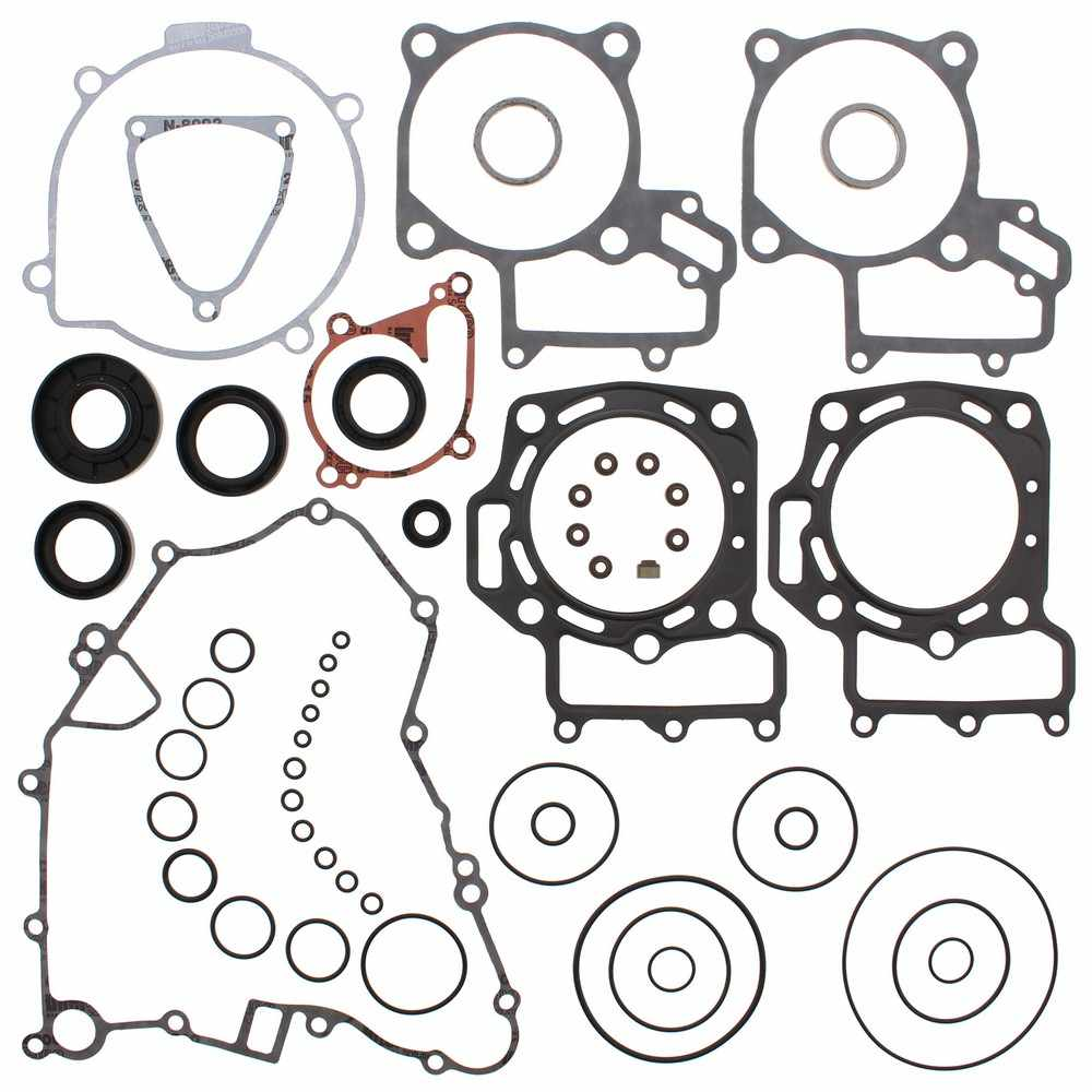 New Complete Gasket Kit with Oil Seals for Kawasaki KVF750