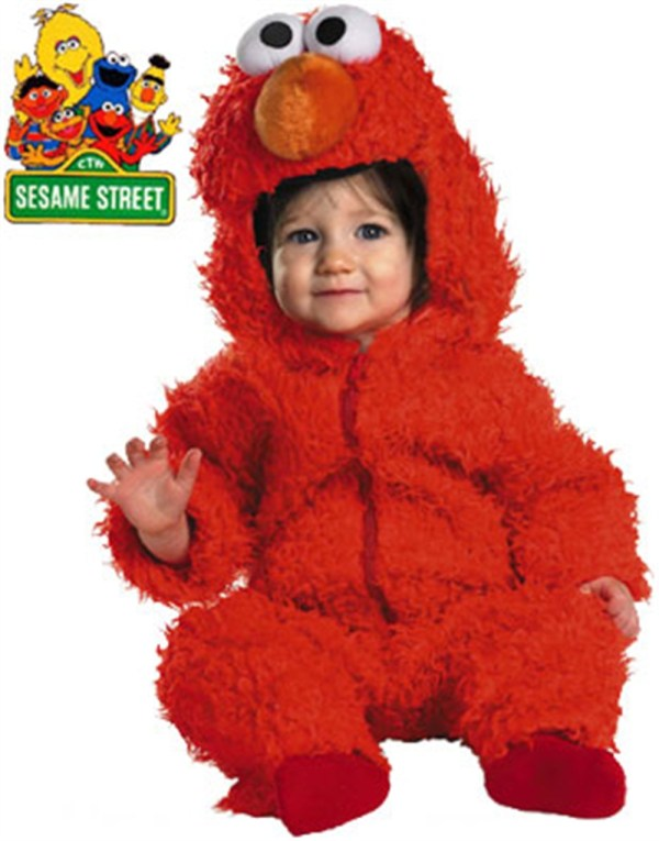 Sesame Street Elmo Toddler Halloween Costume