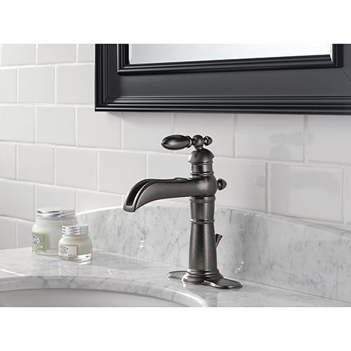 Delta Victorian 554LFPT Single Handle Bathroom Sink