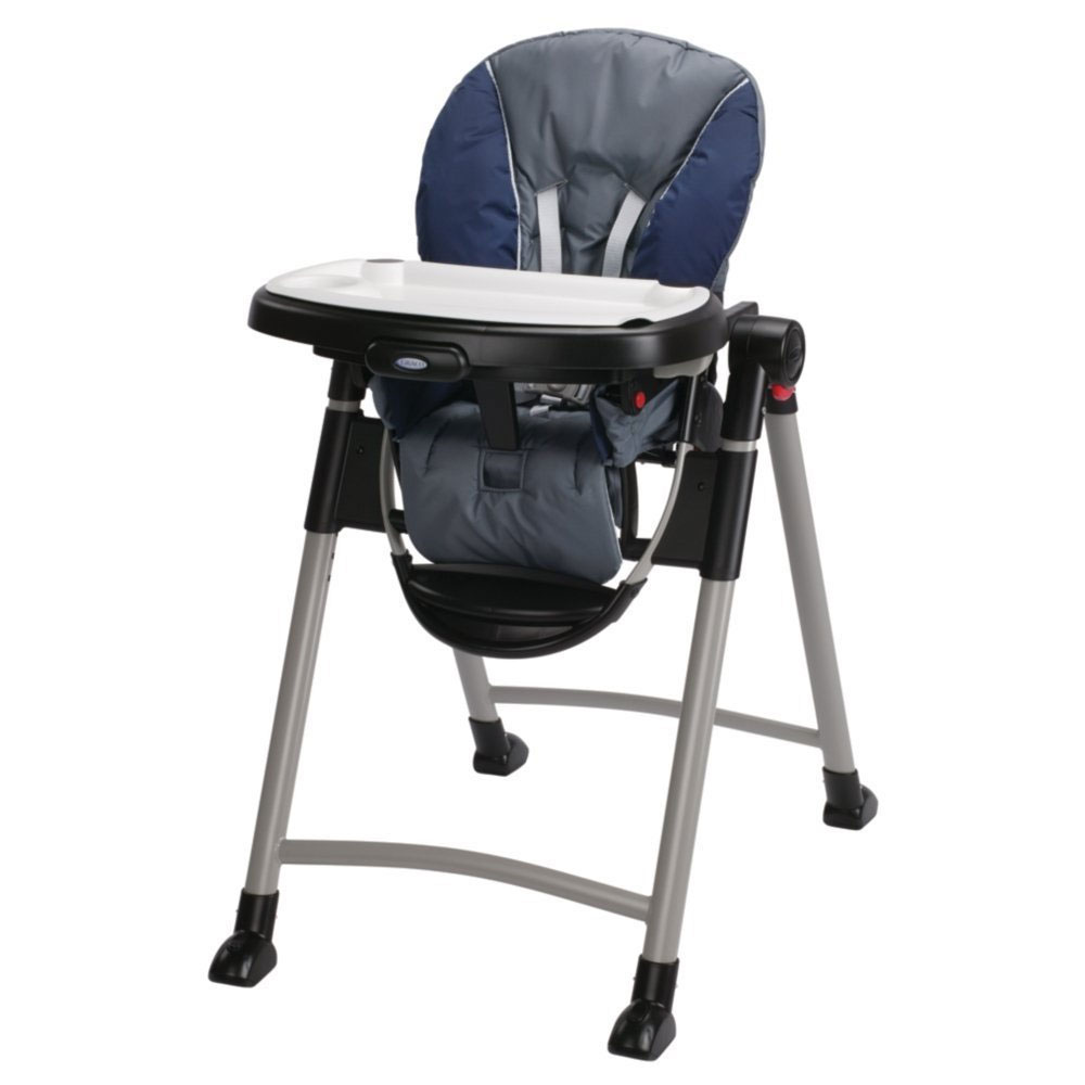 Graco 1918633 Contempo Baby High Chair in Midnight Blue  eBay