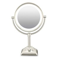 Conair BE104X 10X /1X Variable Lighted Makeup Mirror