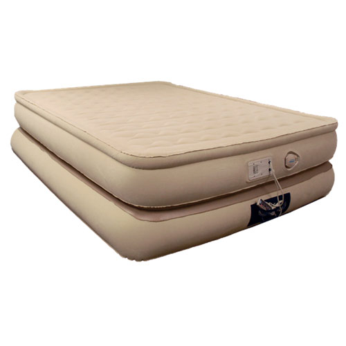 Aerobed Luxury Collection Raised Pillowtop Inflatable Air Bed Mattress  eBay
