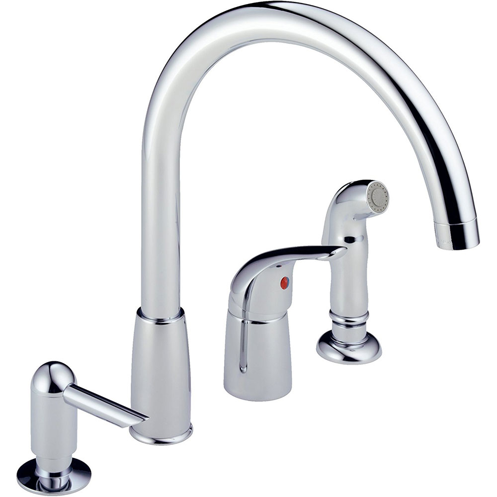 Peerless P88900LF Single Handle Waterfall Widespread