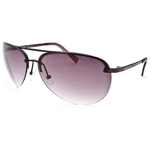 b8090bbcee Michael Kors M2001s 505 Plum Aviator Frame Sunglasses