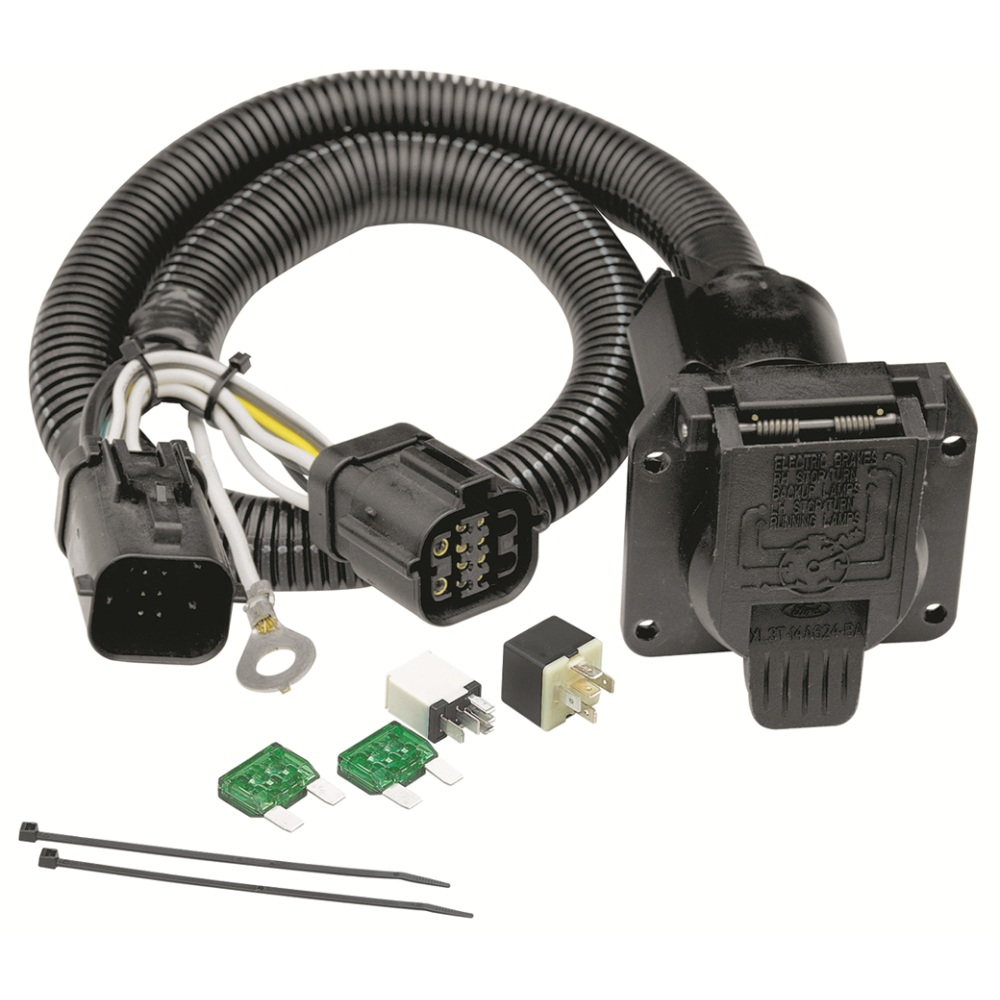 Trailer Harnesses Harness 4 5 7 Way Wiring Molded Connectors