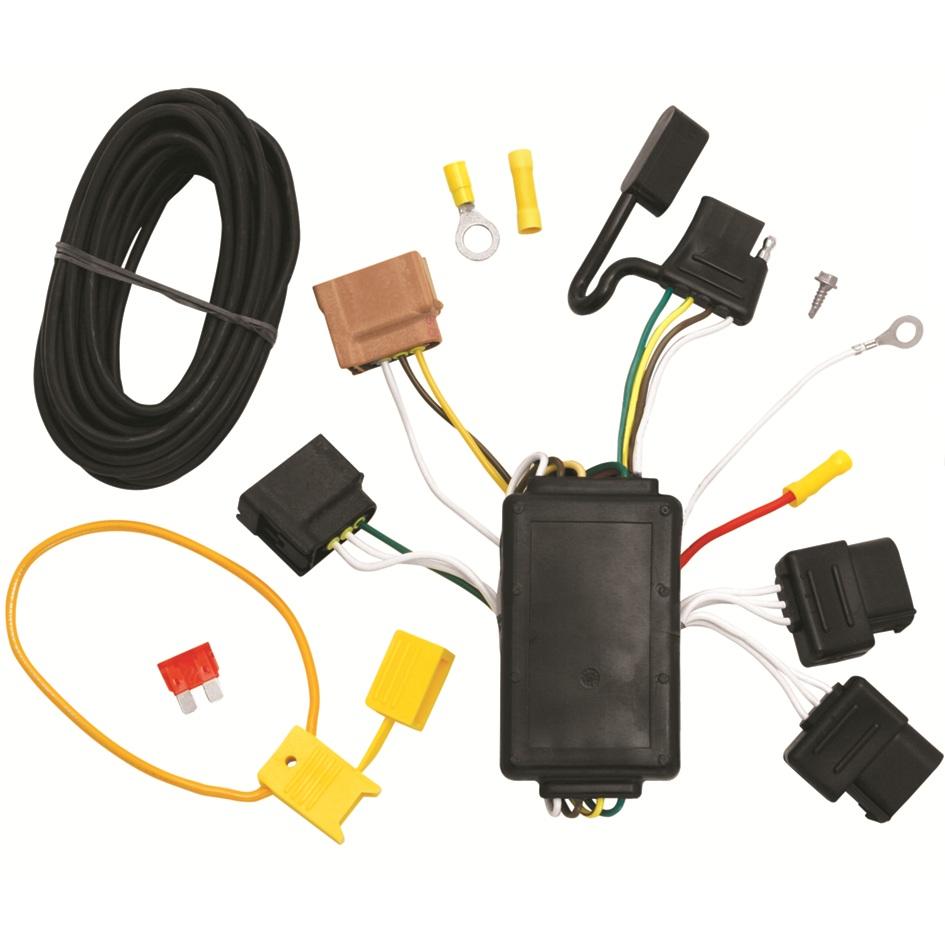 medium resolution of 118422 tone trailer hitch wiring harness ford fusion fiesta ebay