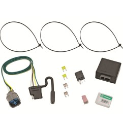 118491 tone trailer hitch wiring harness for honda pilot 20092011 [ 1000 x 1000 Pixel ]