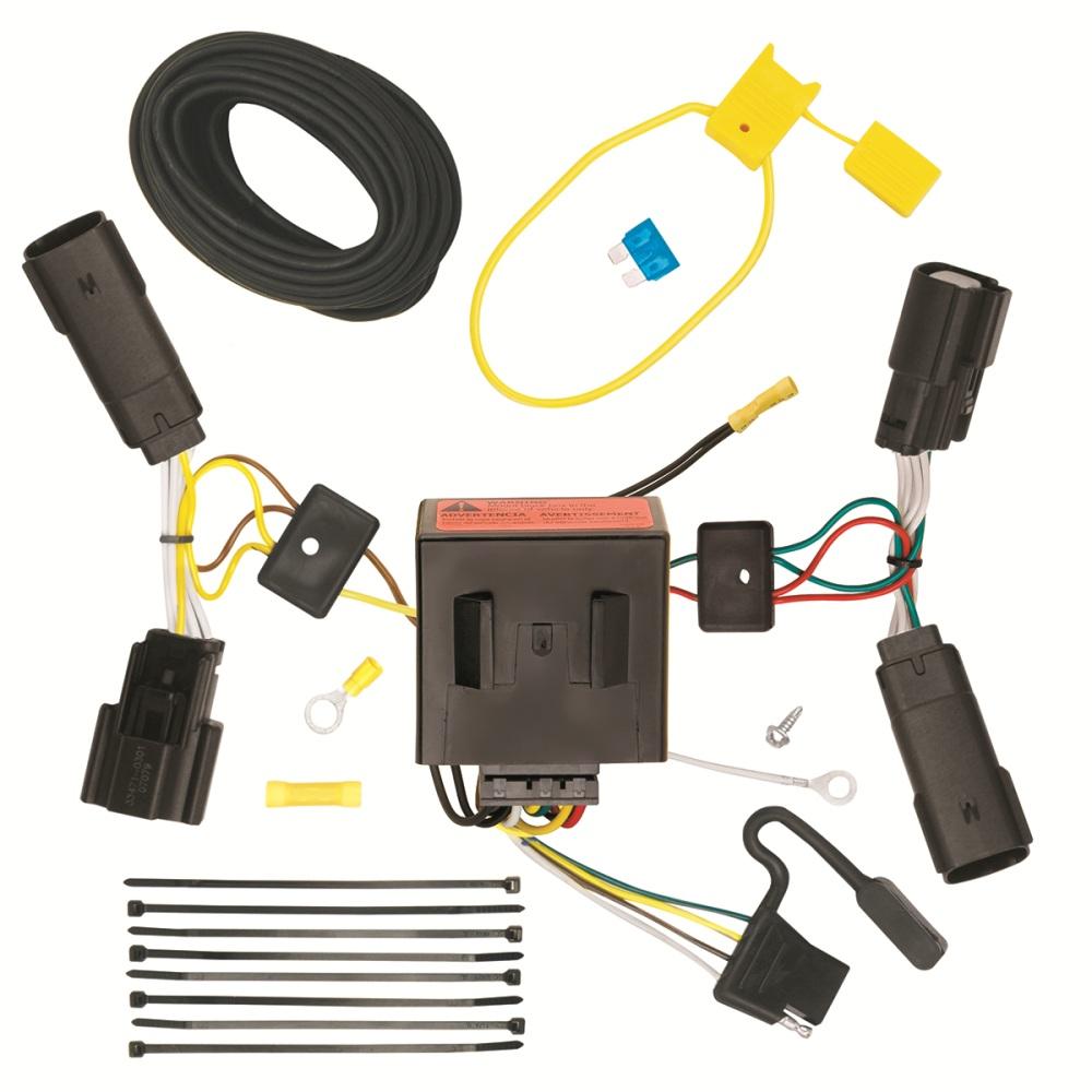 medium resolution of 118515 tone trailer hitch wiring harness ford edge 20112014 ebay