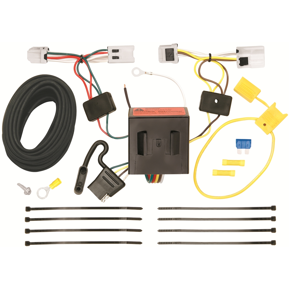 rv style trailer plug wiring diagram mini usb 118553 t one hitch harness for nissan nv
