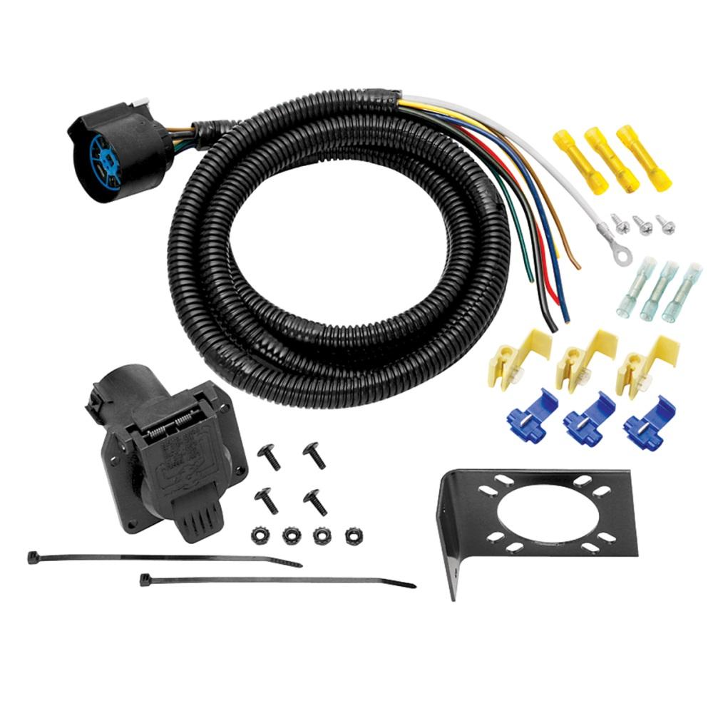 hight resolution of 20223 tow ready 7way 5th wheel rv gooseneck 7 39 wiring harness ebay