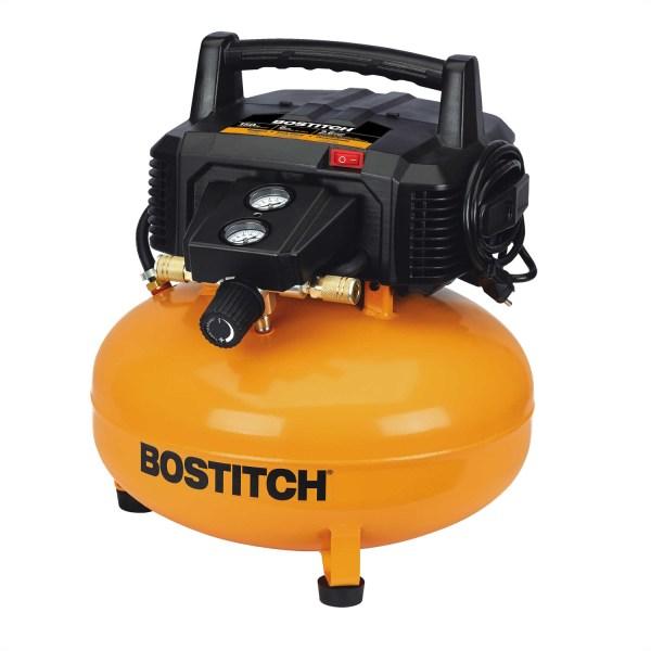 Bostitch 6 Gallon 150 Psi Oil Free Portable Pancake Air