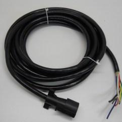 5 Pin Round Plug Wiring Diagram 2017 Wrx 20 39 Camper Truck Trailer 7 Way Wire Harness Ebay