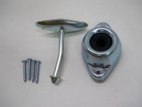 RV Camper Trailer Door Stop Holder Latch / Metal Plunger ...