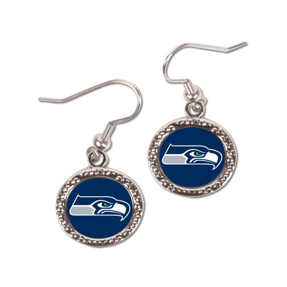 """Seattle Seahawks Official NFL 3/4"""" Earrings Seahawks by Wincraft 181121"""