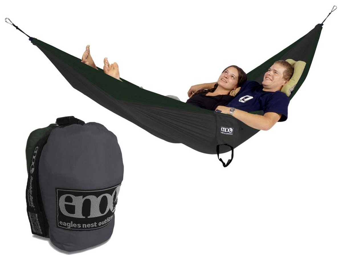 Eno Doublenest Hammock Outdoor Camping Backpacking Nylon