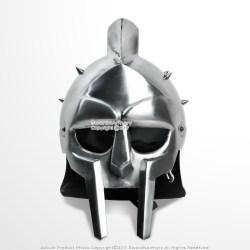 helmet gladiator roman medieval spikes armor
