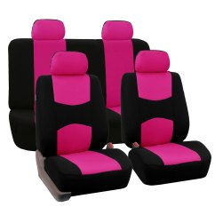 Chair Covers Pink Wedding And Sashes To Buy 8 Piece Lowback Flat Cloth Full Set Auto Seat Ebay