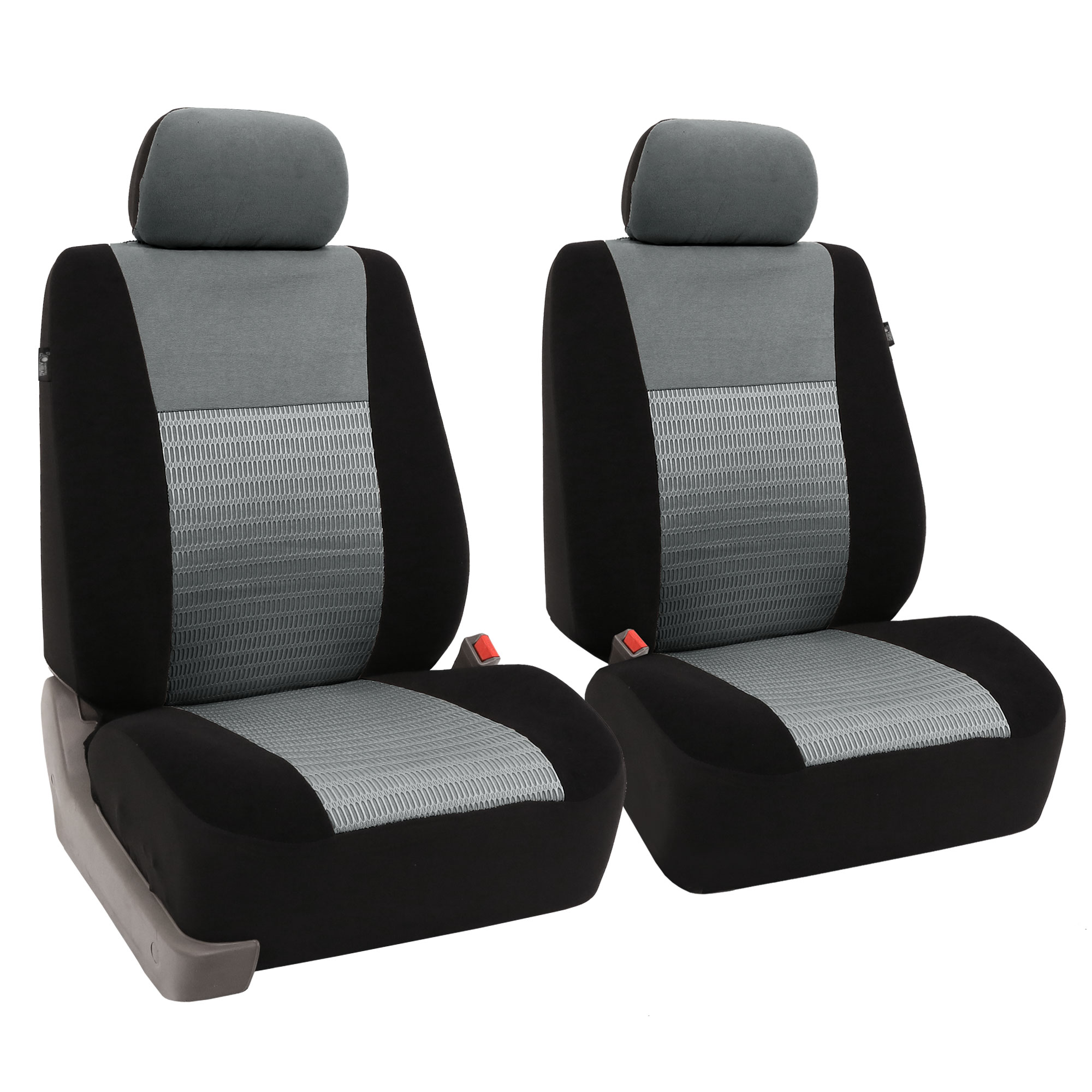 chair covers for headrest gaming 5 1 surround sound pair bucket fabric seat detachable