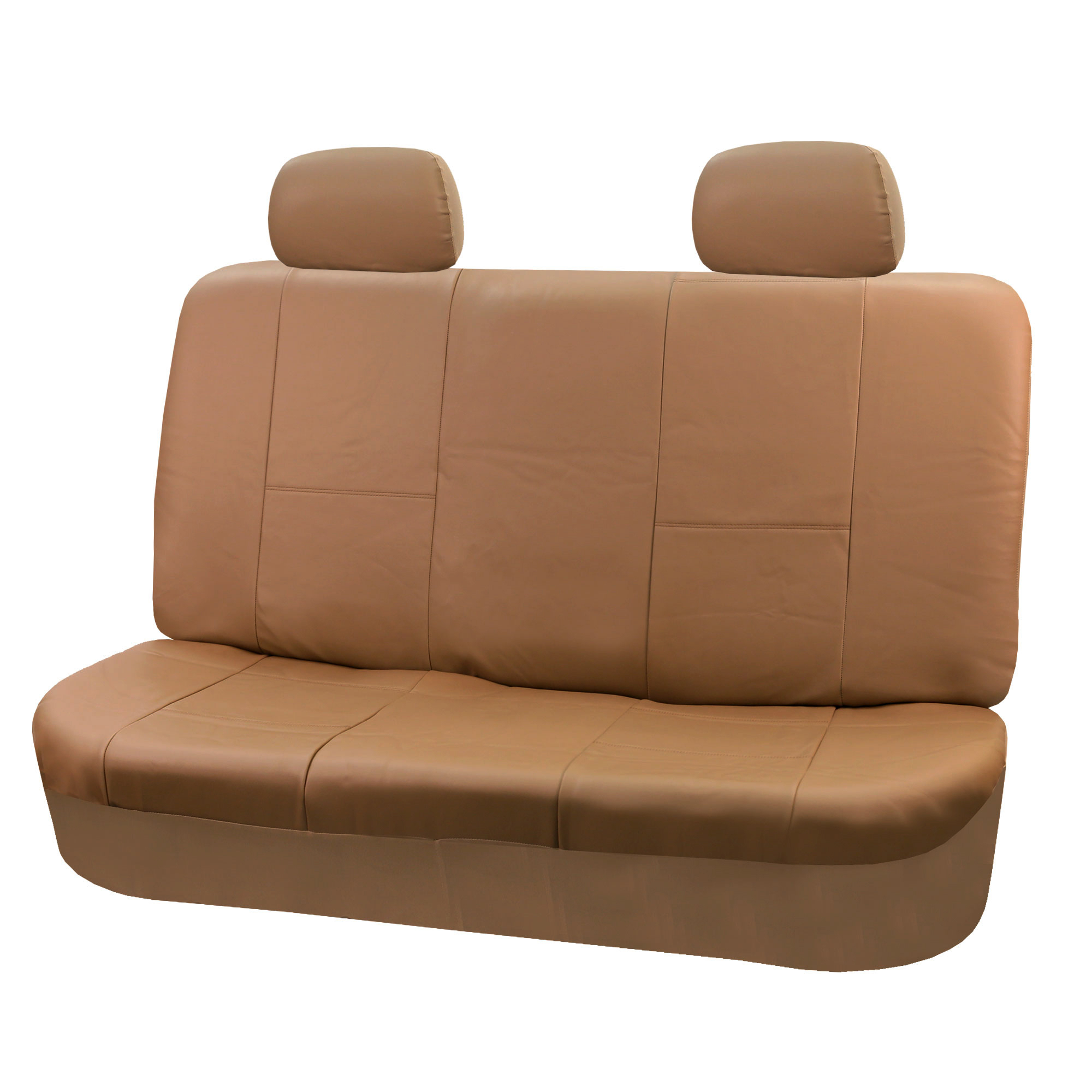 faux leather gripper chair cushions covers for rent winnipeg sport line car seat cover set tan free gift