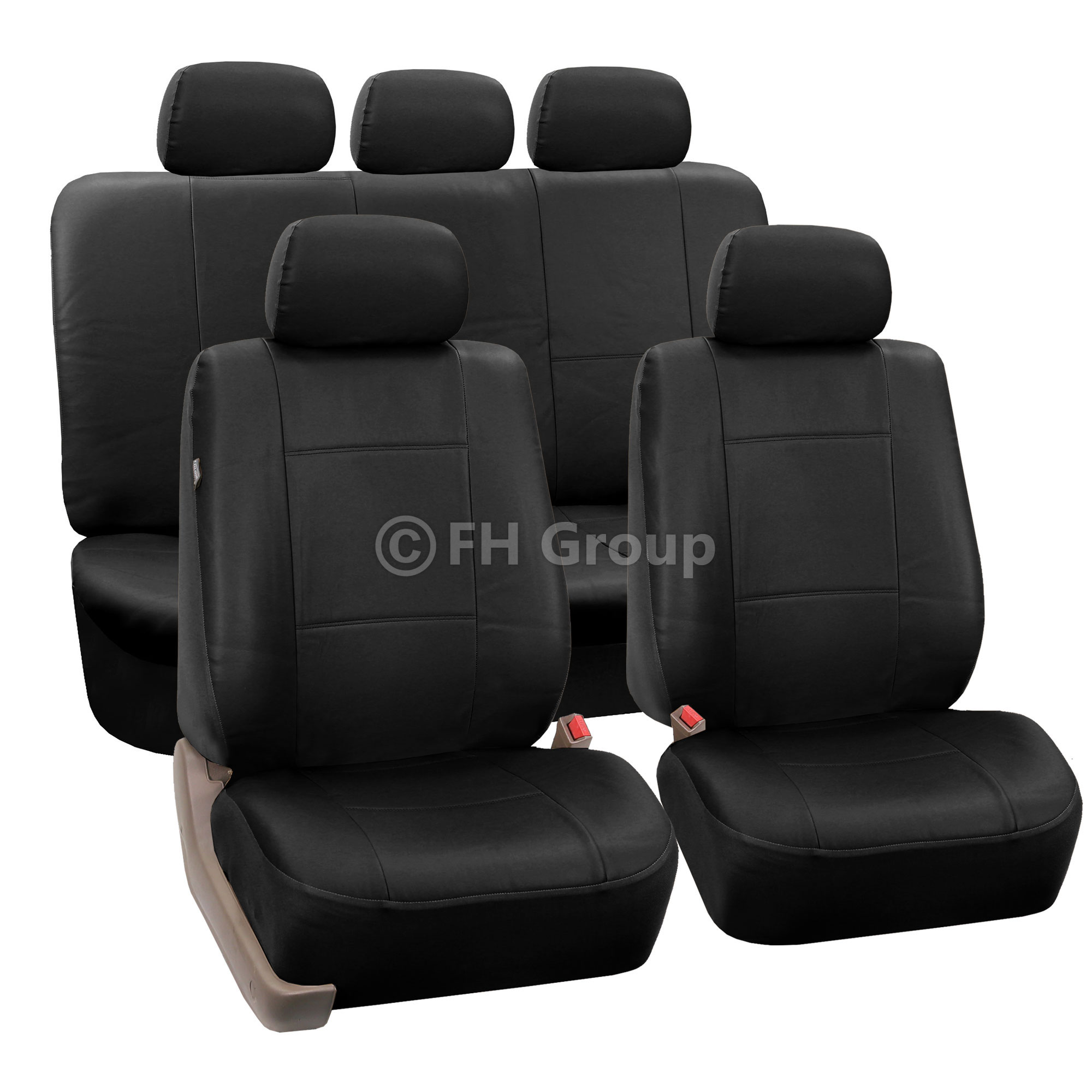 cover chair seat car antique ladder back chairs value pu leather covers w carpet floor mats for split
