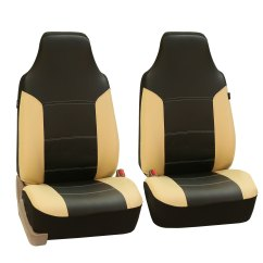 Faux Leather Gripper Chair Cushions Lillian August Chairs Beige Black Car Seat Cover Set Headrests