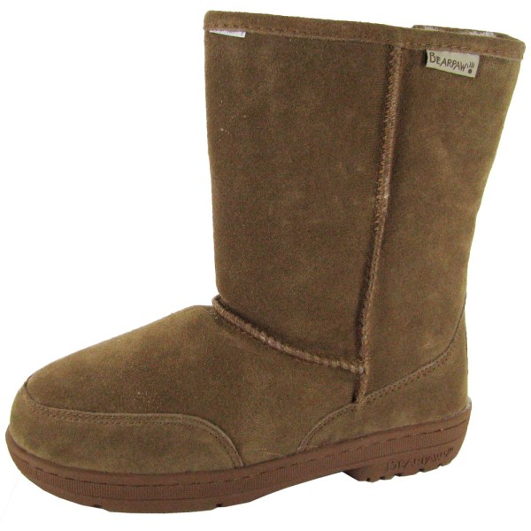 Bearpaw Womens Meadow Short 8- Suede Sheepskin Boot