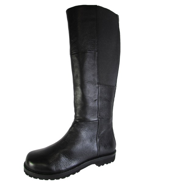 Gentle Souls Womens Winfield Leather Tall Stretch Boot Shoe