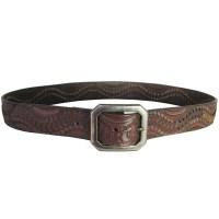 True Religion Mens Single Prong Designer Genuine Leather ...