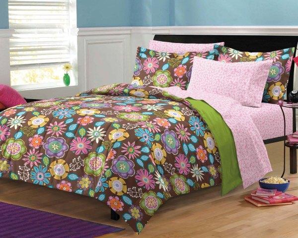 Boho Garden Teen Girls Bedding Comforter Sheet Set Twin Xl