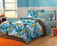 NEW Extreme Sports Blue Teen Boys Bedding Comforter Sheet