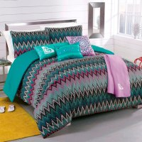 NEW Roxy Tribal Dash Twin Comforter Sham Body Pillow Throw ...