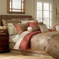 Waterford Bogden King Comforter Bogden Multi (Rust/Olive ...