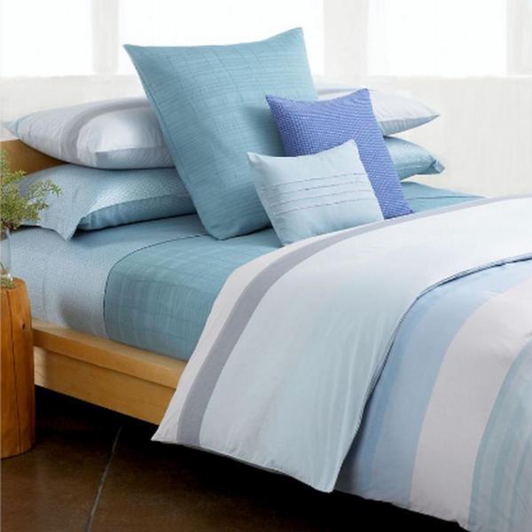 Calvin Klein Manoa Queen Comforter Bed In Bag Set Blue