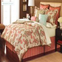 Martha Stewart Persimmon Paisley Queen 3 Piece Comforter ...
