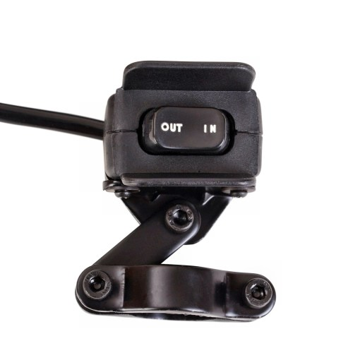small resolution of xtreme universal atv utv winch handlebar mount mini thumbswitch rocker switch fits all winches