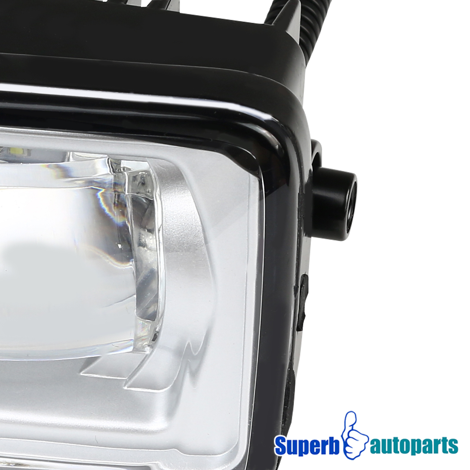 For 2017-2018 Ford F250 F-250 LED DRL Projector Fog Lights