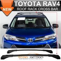 Toyota RAV4 13-16 Cross Bar Roof Rack Black Top Roof Rack ...