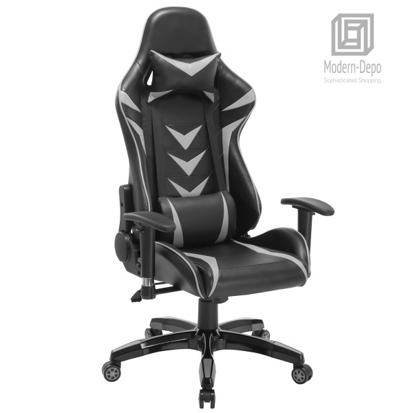 High- Ergonomic Swivel Gaming Chair Racing With Lumbar Support & Headrest