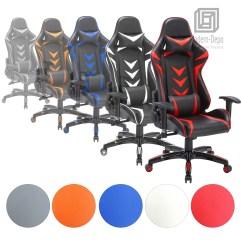 Ergonomic Office Chair Ebay Desk Nz High Back Swivel Gaming Racing Image Is Loading