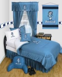 Unc Comforter. North Carolina Tarheels UNC Dorm Bedding