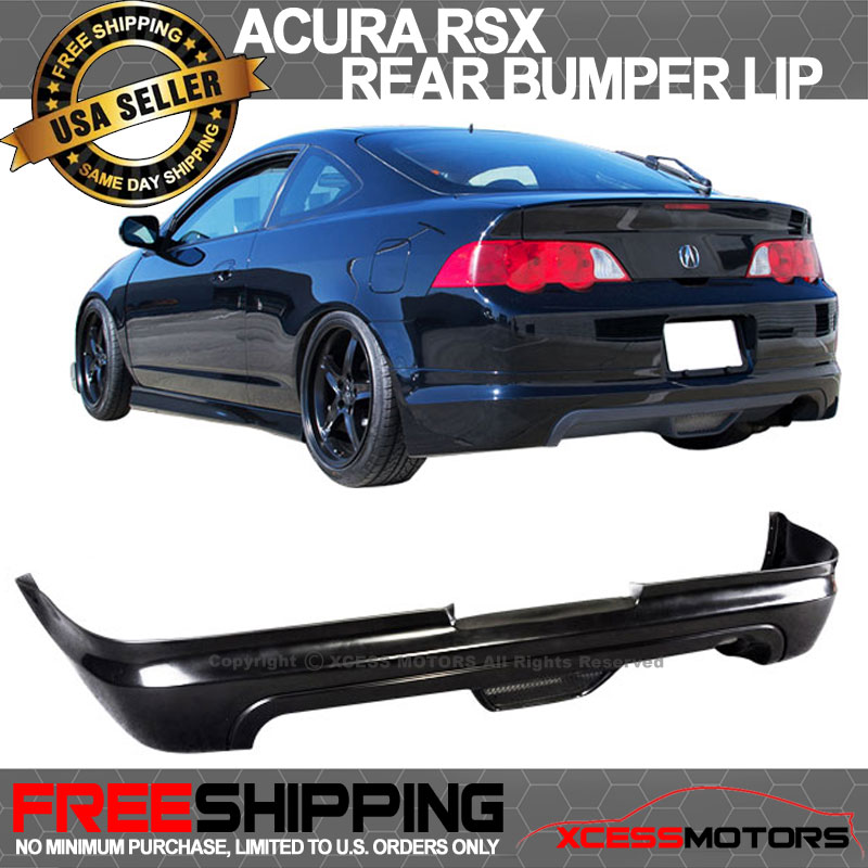 fits 02 04 acura rsx mugen style black