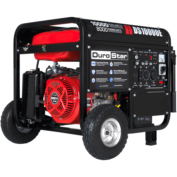 Durostar 10000w Portable Gas Electric Start Generator Standby Camping Ds10000e 811640013578